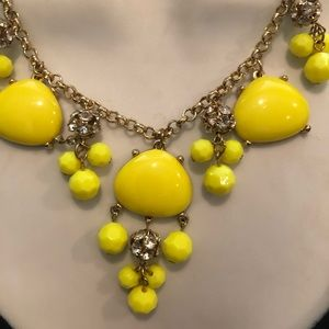 The Limited Jewelry - Fun Neon yellow necklace